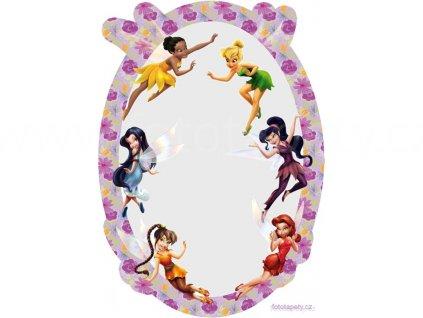 Samolepící zrcátko Disney - Víly, 15x21,5cm
