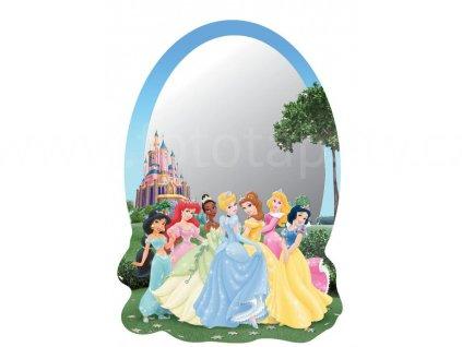 Samolepící zrcátko Disney - Princezny a sněhurka, 15x21,5cm