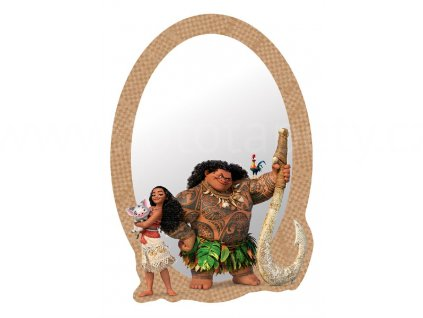 Samolepící zrcátko Disney - Vaiana, 15x21,5cm, DM2121