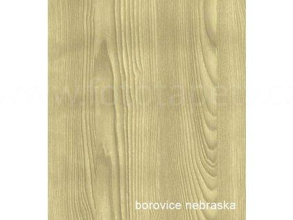 Profesionální renovační folie na dveře a nábytek - vzor Borovice Nebraska, skladem posledních 2 m