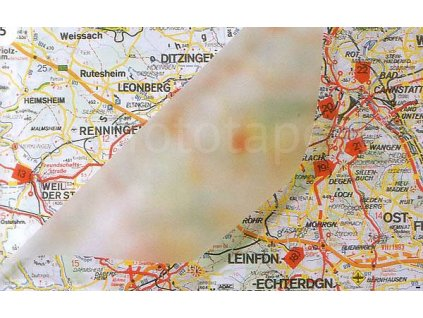 Matná zcela průhledná samolepící folie šíře 45, 67,5 cm