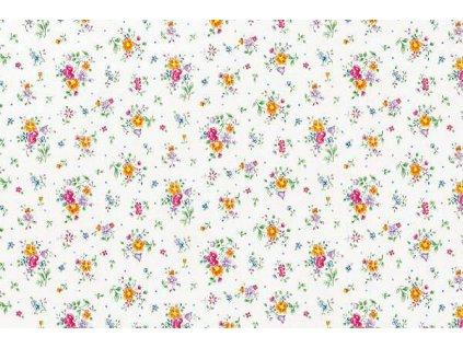 Samolepící tapeta d-c-fix, strukturální vzor  květiny Sunflor