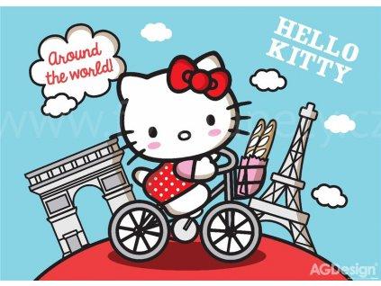 Maxiplakát  Hello Kitty na kole, FTD 856, 160x115cm