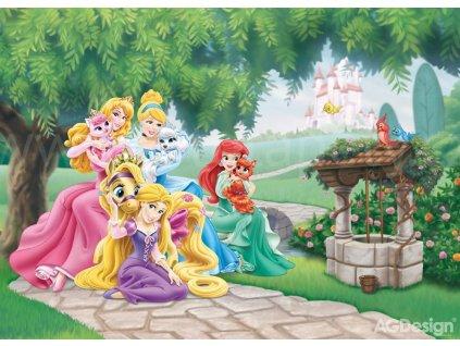 Vliesový maxi plakát Princezny se zvířátky FTD m 5231, 160x110cm