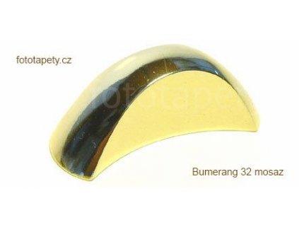 kovová úchytka BUMERANG 32