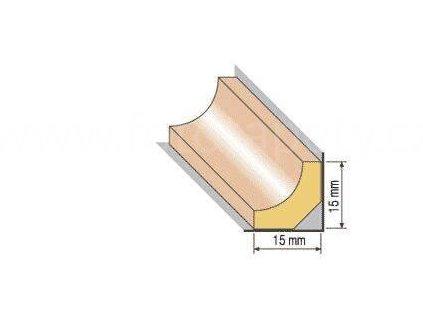Dřevěná profilová lišta, 18 (Varianta borovice 1 metr)