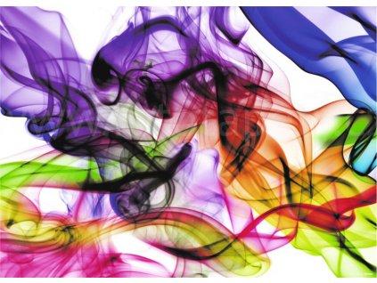 Jednodílná obrazová tapeta Barevný kouř FTM 0875, rozměr 160 x 115cm