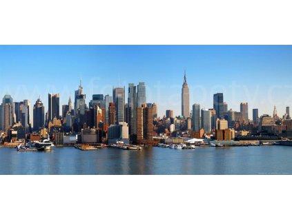 Panoramatická vliesová fototapeta New York FTN h 2728, rozměr 202x90cm