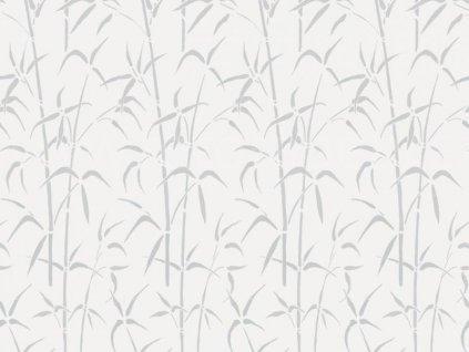 Transparentní samolepící folie d-c-fix šíře 45cm, vzor Bamboo, doprodej