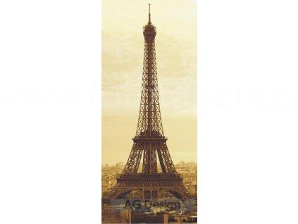 Jednodílná vliesová fototapeta Eiffelova věž FTN v 2815, rozměr 90x202cm