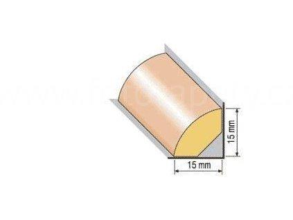 Dřevěná profilová lišta, 19 (Varianta borovice 1 metr)