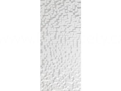 Jednodílná vliesová fototapeta Šedé krychle FTN V 2930, rozměr 90x202cm