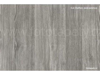 Samolepící tapeta d-c-fix imitace dřeva, vzor Dub Sheffield, šedá perleťová