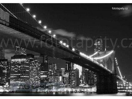 Čtyřdílná obrazová fototapeta Brooklynský most FTS 1305, rozměr 360 x 254cm