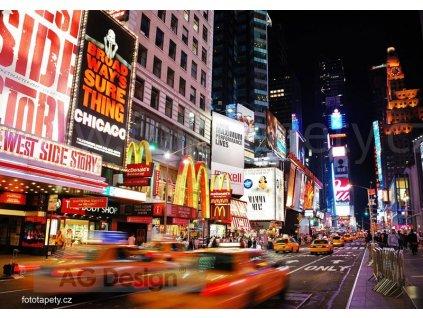 Čtyřdílná obrazová fototapeta Manhattan FTS 1308, rozměr 360 x 254cm