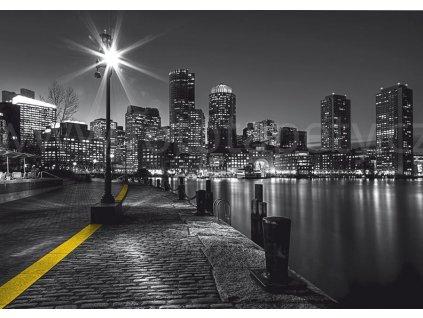 Čtyřdílná obrazová fototapeta Nábřeží New York FTS 1317, rozměr 360 x 254cm