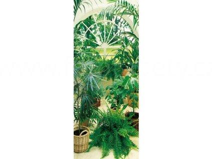 Jednodílná obrazová tapeta Zimní zahrada, 86 x 200cm, ID 577