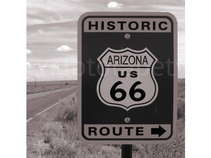 Třídílná vliesová fototapeta Route 66, rozměr 225x250cm, MS-3-0033