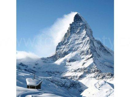 Třídílná vliesová fototapeta Matterhorn, rozměr 225x250cm, MS-3-0073