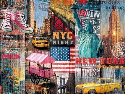 Samolepící tapeta d-c-fix Decor - New York, 200-3234