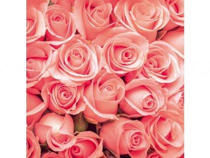 Třídílná vliesová fototapeta Růže, rozměr 225x250cm, MS-3-0133