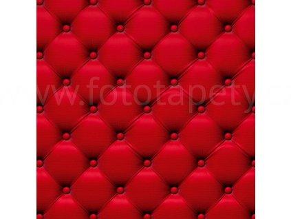 Třídílná vliesová fototapeta Červený potah, rozměr 225x250cm, MS-3-0270