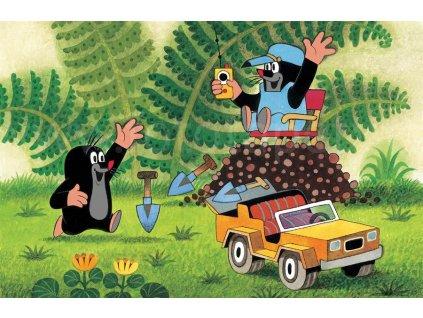Dětské prostírání Krteček a auto, LP 1020, 42x30cm