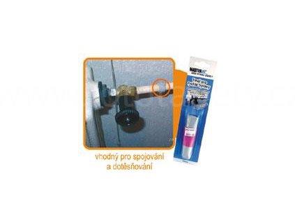 Tmel pro rychlé opravy, pro rychlé opravy tvrdých materiálů, dvousložkový epoxid