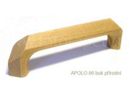 dřevěná úchytka APOLO 96