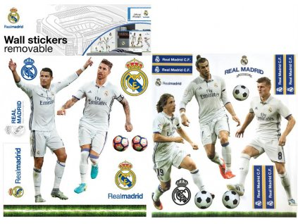 Samolepky na zeď Fotbalisté Real Madrid - Cristiano Ronaldo, 50x70cm