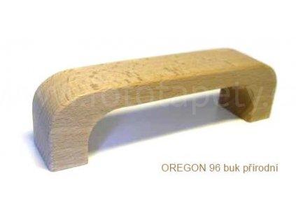 dřevěná úchytka OREGON 96