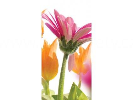 Dvoudílná vliesová fototapeta Jarní květy, rozměr 150x250cm, MS-2-0142