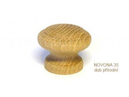 knopek dřevěný NOVONA 30,35