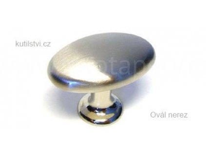kovový knopek OVÁL