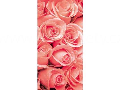 Dvoudílná vliesová fototapeta Růže, rozměr 150x250cm, MS-2-0133