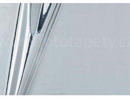 Samolepící stříbrná vysoce lesklá folie d-c-fix, šíře 45 cm