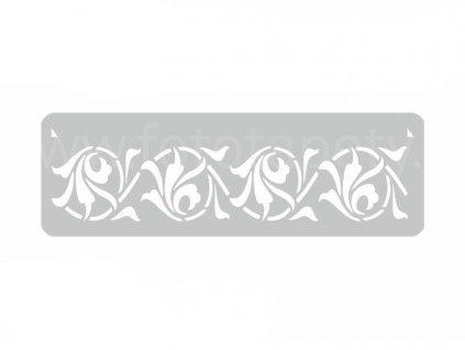 Malířská šablona a bordura Pepř (Pepper), 14x44cm, SAB101