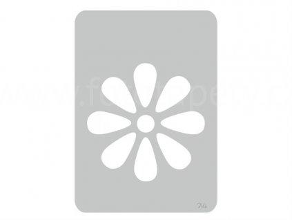 Malířská šablona Kopretina (Daisy), 14,5x20,5cm, SAB214