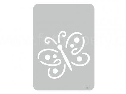 Malířská šablona Motýl (Fairy), 14,5x20,5cm, SAB237, skl.