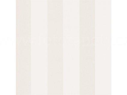 Vliesová tapeta na zeď Shine, 0,53x10,05m, SHE60390060 - krémové pruhy