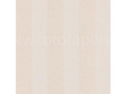Vliesová tapeta na zeď Shine, 0,53x10,05m, SHE60391125 - béžové pruhy