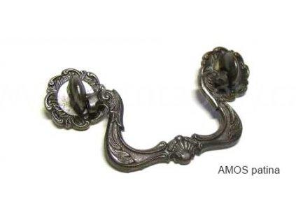 kovová úchytka AMOS 76 sklopná