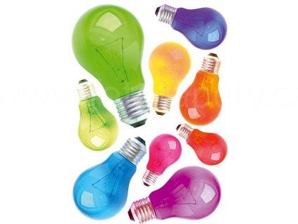 Samolepící dekorace na zeď a nábytek - Žárovky, ST1 009, 50x70cm