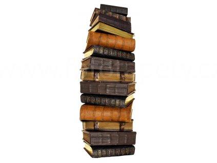 Samolepka na zeď a nábytek - Starobylé knihy, 65x165cm, ST2 011