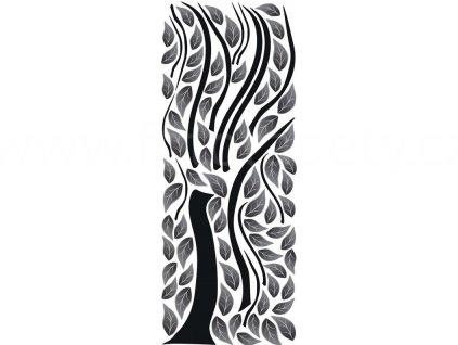 Samolepka na zeď a nábytek - Abstraktní strom, 65x165cm, ST2 020