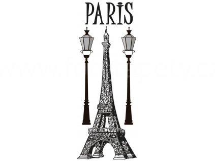 Samolepka na zeď a nábytek - Paříž, 65x165cm, ST2 021