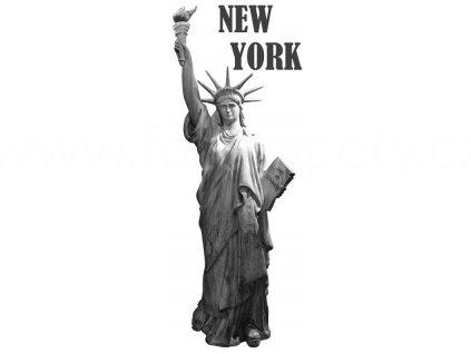 Samolepka na zeď a nábytek - New York, 65x165cm, ST2 023