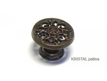 kovový knopek KRISTAL 32