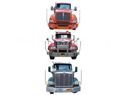Samolepka na zeď a nábytek - Kamiony, 65x165cm, ST2 029