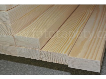 Dřevěné latě na lavičku, borovice, 25 x 55 mm (Varianta Laťka na lavičku 1,5m,vyprodáno)